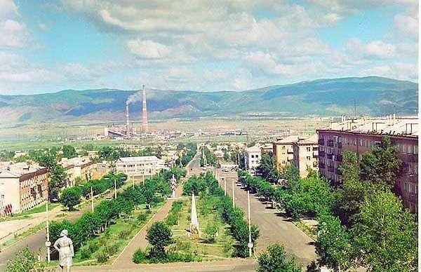 гусиноозёрск фото города