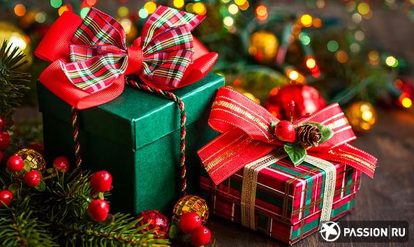 картинки новогодние подарки
